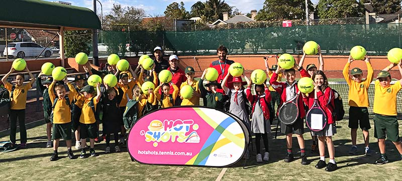 Hot Shots Tennis Cammeray NSW Sydney