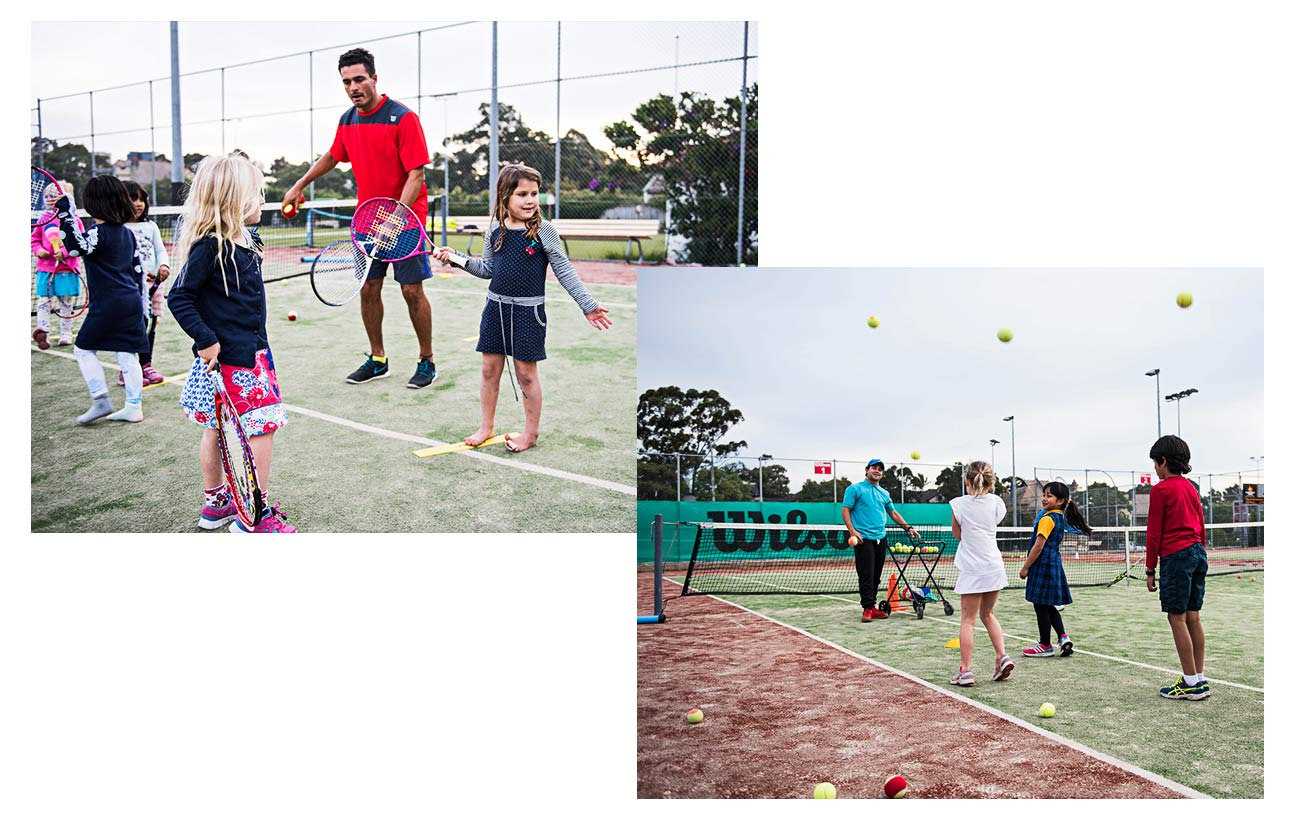 Kids Hot Shots Tennis Sydney