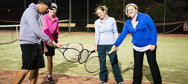 Sydney Adult Group Tennis Lessons