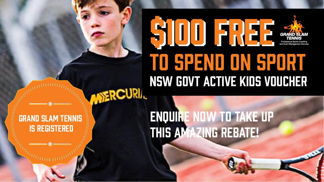 GS Tennis – Active Kids Web Banner – v2